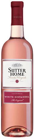 Sutter Home Winery White Zinfandel